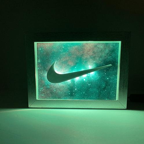 "Nike Swoosh LED Sign 5x7"""