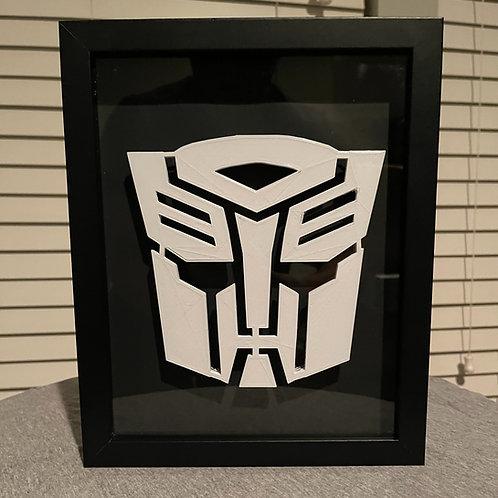 Transformers Autobot Optimus Prime LED Sign 8x10