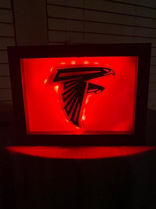 Atlanta Falcons LED Wall Piece