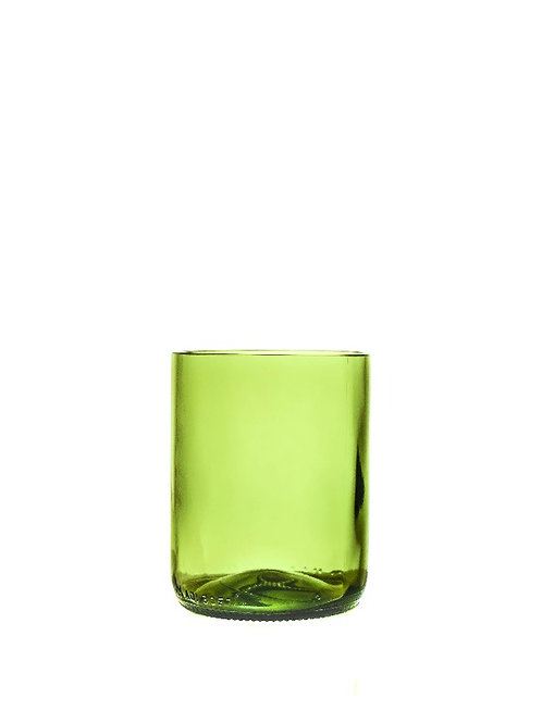 Green Olive Drinking Glass