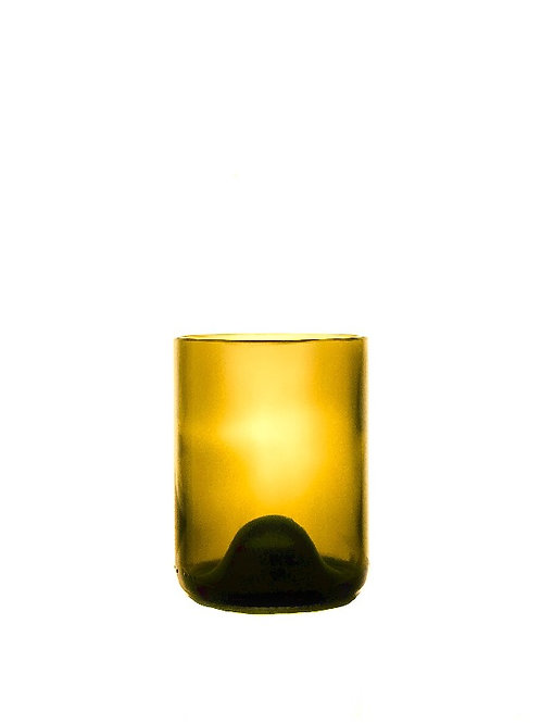 Amber Gothic Drinking Glass