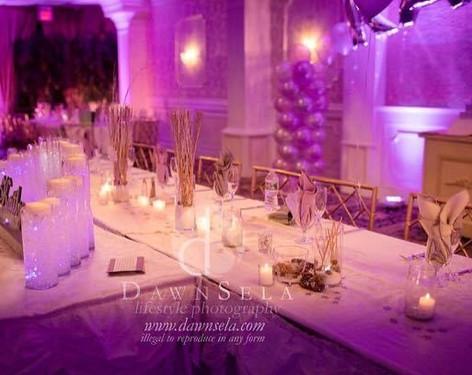 Sweet 16 Court Table, Villa Barone Hilltop