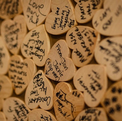 Wooden Heart Guest Notes