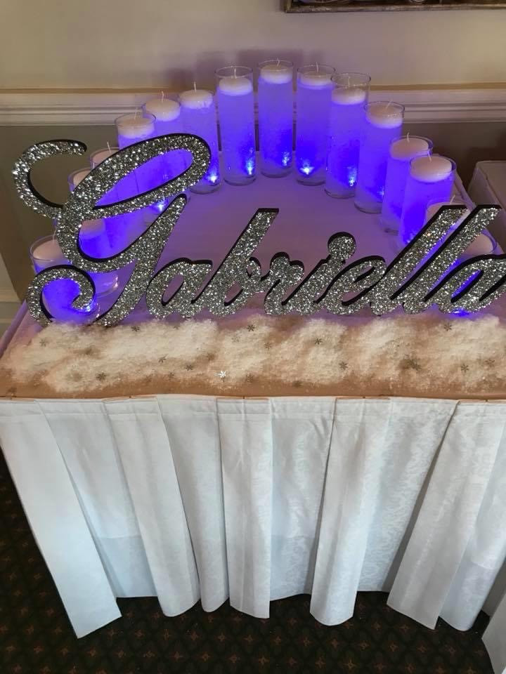Candle Ceremony Table by The Party Styler