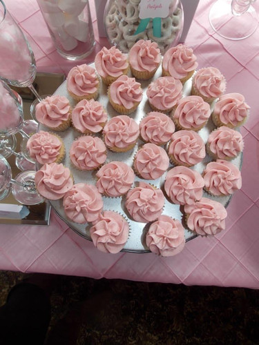 Bridal Shower Sweets Table