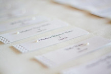 Seating Cards by The Party Styler