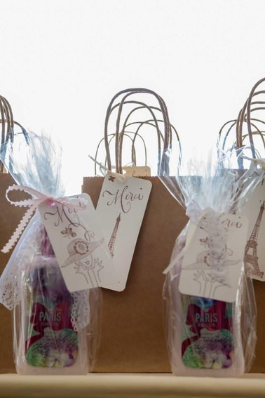 French Theme Bridal Favors