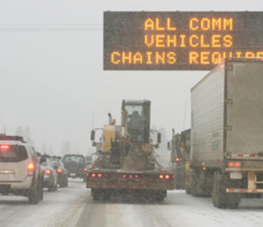 States With Permanent Mandatory Tire Chain Laws
