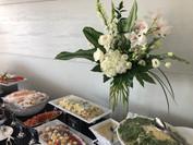 Floral design & menu selection