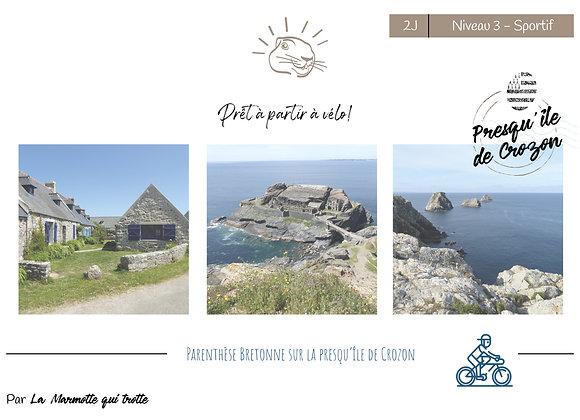Presqu'île de Crozon | 2 Jours | Niveau 3 -Sportif