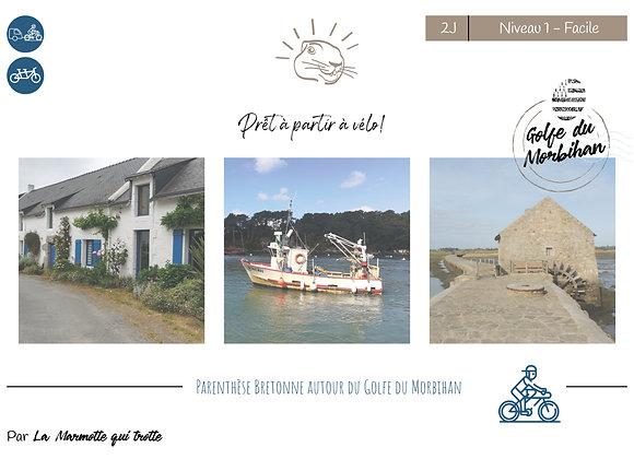 Golfe du Morbihan | 2 Jours  | Niveau 1- Facile