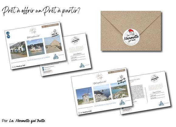 Prêt à offrir - Carte postale imprimée