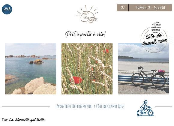 Côte de granit rose | 2 Jours | Niveau 3 - Sportif