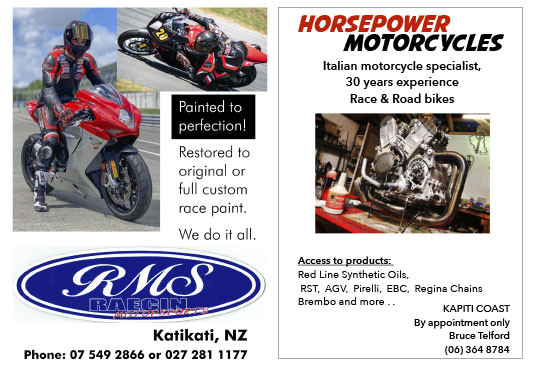 RMS and Horsepower Motorcycles