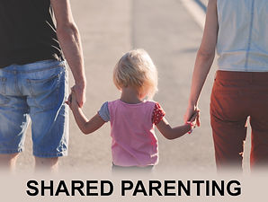 Shared Parenting - Child with Parents