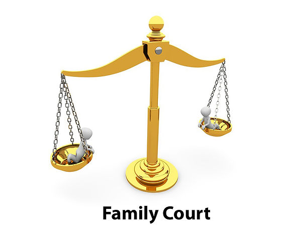 Scales of Justice - Family Court