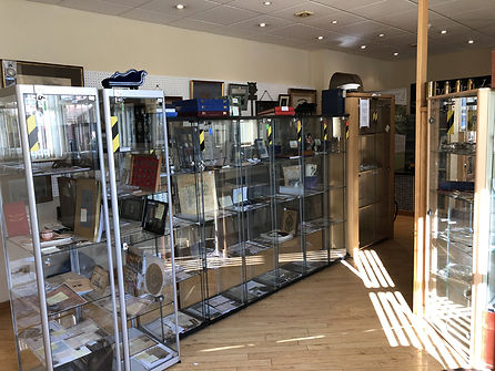 Military Medals and Books Bedford - Display Cabinets to Rent, War Memorabilia