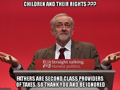 Jeremy Corbyn's Thoughts on Secret Family Courts