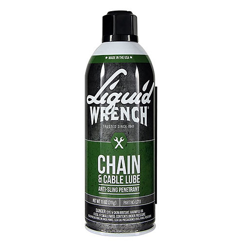 Liquid Wrench Chain & Cable Lube