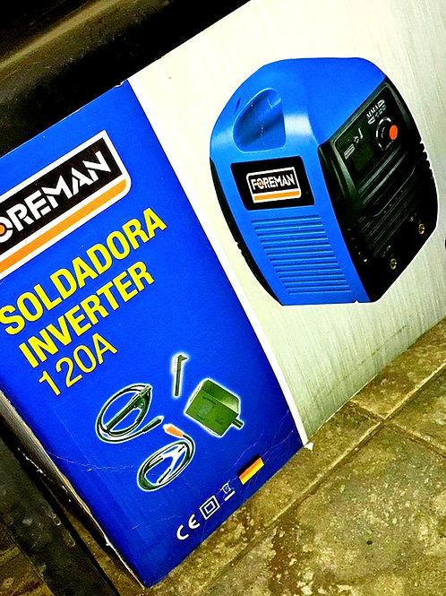 SOLDADORA INVERTER 160amp FOREMAN