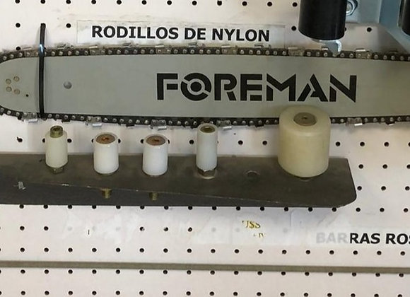RODILLO 25 MM DIAMETRO NYLON