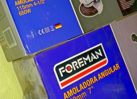 """AMOLADORA ANGULAR 7"""" FOREMAN 2000w"""
