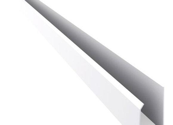 J terminación PVC x 6000mm Blanco