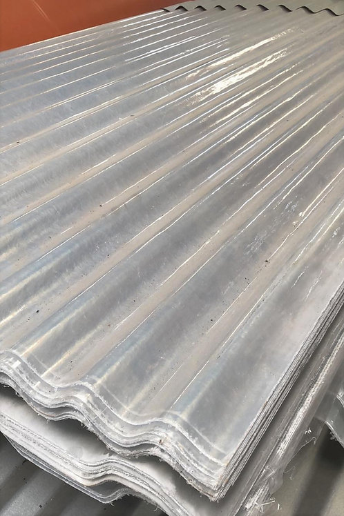 Chapa fibra de vidrio trapezoidal 3.66mt