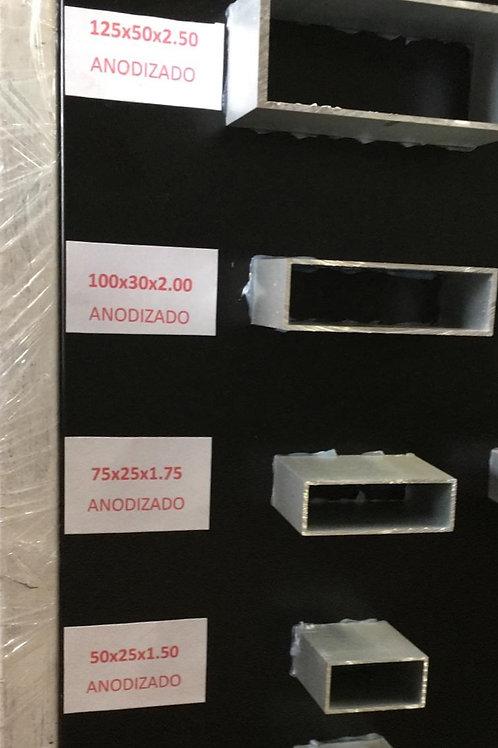 Tubo rectangular 100 x 30 x 2.00mm
