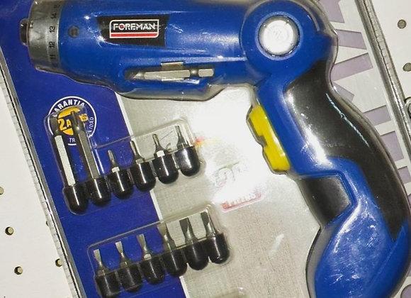 Atornilladora 3.6V litio Foreman