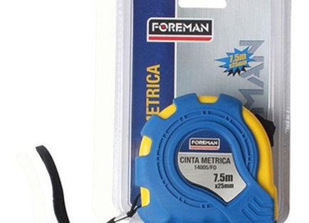 Cinta métrica 7.5m Foreman