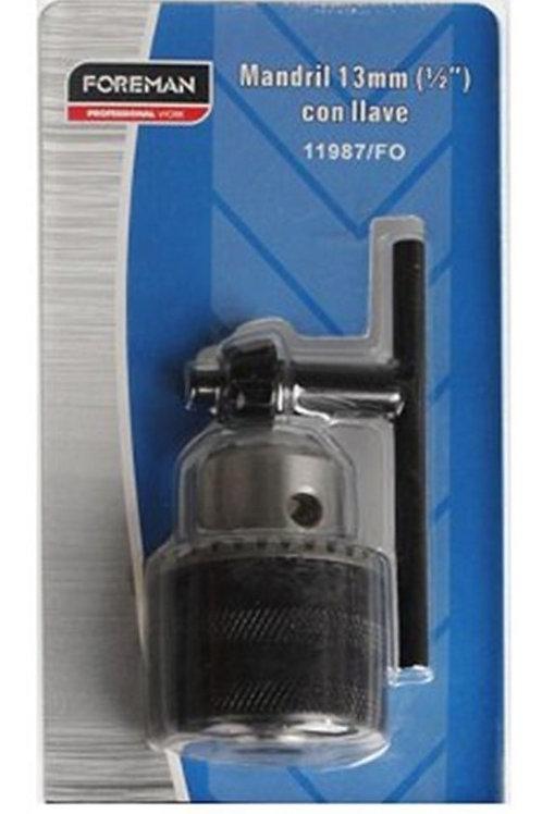 Mandril 13mm para taladro Foreman