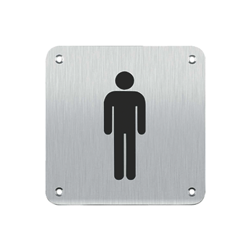 Sign Plate - Male (SB2MS)