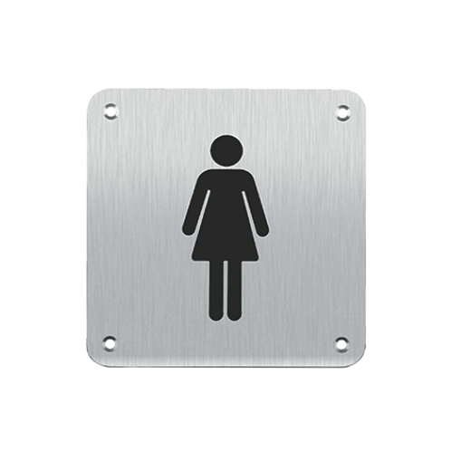 Sign Plate - Female (SB1FS)