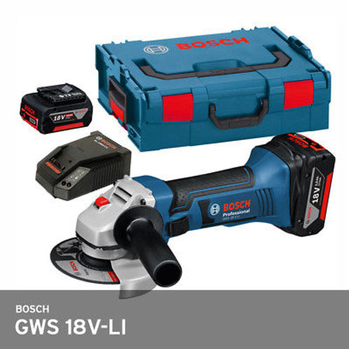 GWS 18 V-LI Cordless Angle Grinder