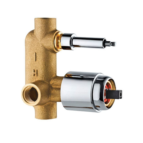 In-wall Body of Single Lever Diverter