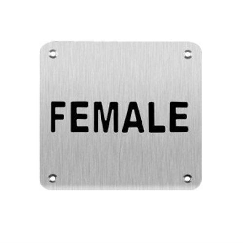 Sign Plate - Female (SBWFS)