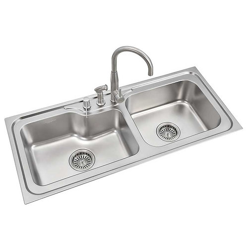 Double Bowl Sink | LS340DB