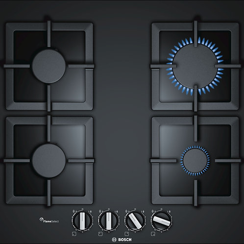 Serie | 6 Gas Hob 60cm Black (PPP6A6B20)