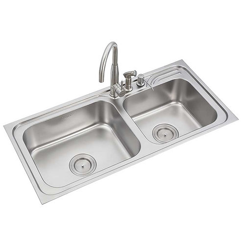 Double Bowl Sink | LS338BB