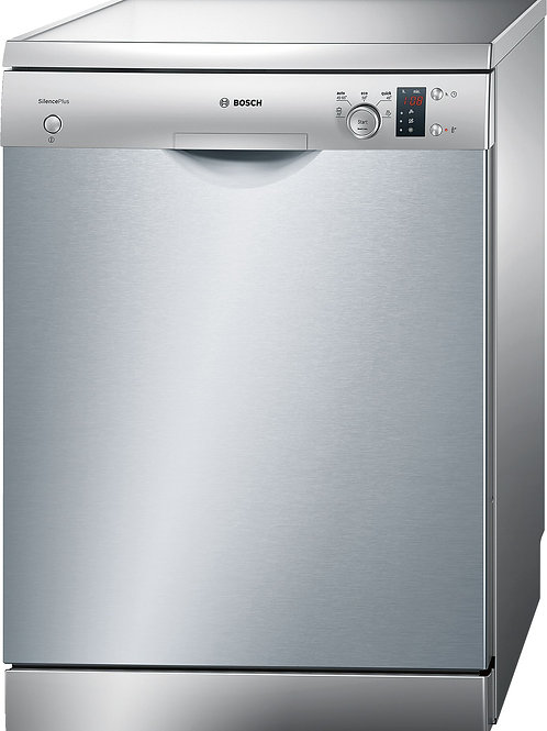 Serie | 4 Free-Standing Dishwasher 60cm Silver Inox (SMS50D08GC)