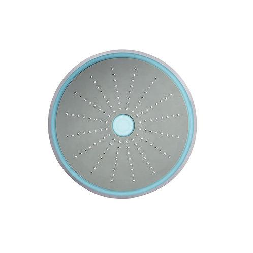 LED Single Function Round Shape Overhead Shower