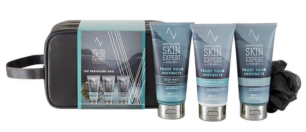 SkinExp Mens Travel Gift Set