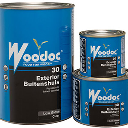 WOODOC 30 EXTERIOR | LOW-GLOSS | CLEAR