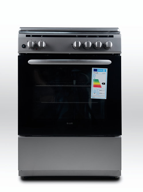K-Lux Free Standing Cooker 60cm - OBO674W