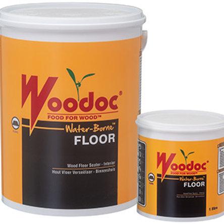WOODOC WATER-BORNE FLOOR INDOOR | GLOSS/MATT | CLEAR OR WHITE