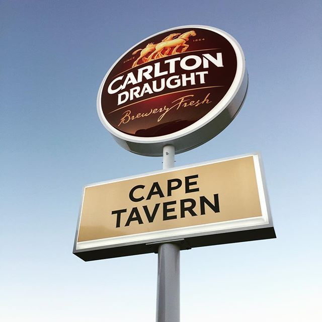 Carlton Draught Cape Tavern