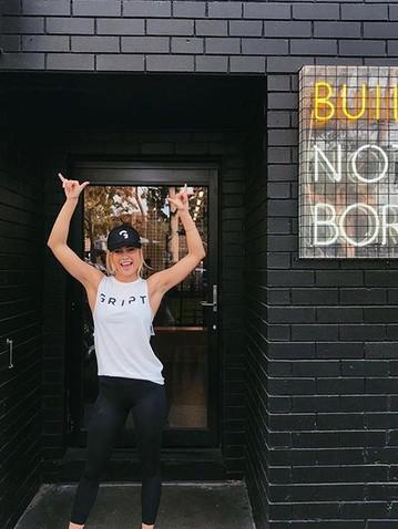 Built not born Neon Signage Melbourne.jp