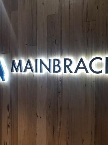 Mainbrace Illuminated Signage Melbourne.