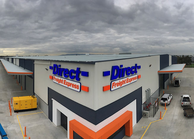 Direct Freight Building Signage Melbourn